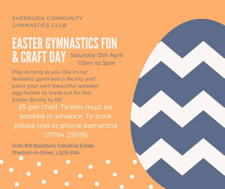 Easter Gymnastics Fun & Craft Day